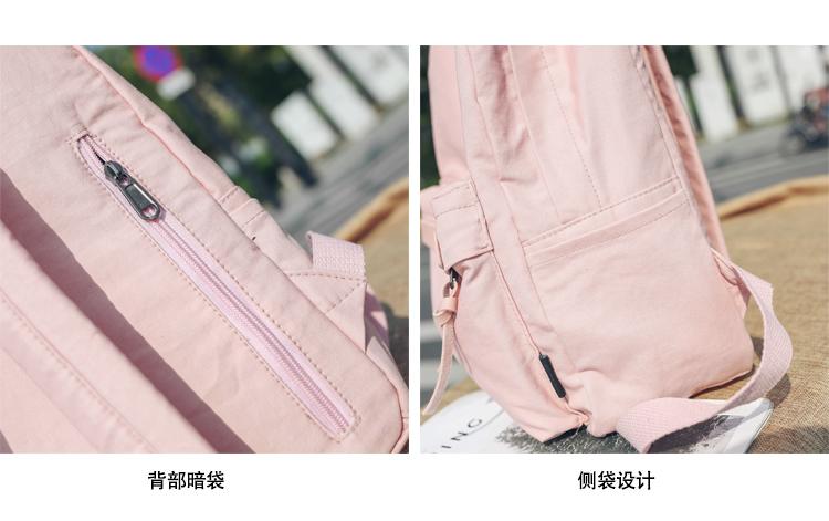 Menghuo High Quality Women Canvas Backpack Teenage Girls Leisure Backpack Bag Vintage Stylish Female School Bag Bookbag Mochilas (24)