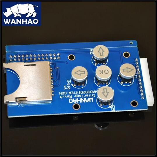 Wanhao 3D Printer D4 Touching Panel for wanhao 3d printer D4 control panel touching panel<br><br>Aliexpress