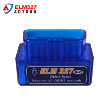 Latest Version Super Mini ELM 327 Bluetooth V2.1 OBD2 Scanner ELM327 OBD 2 Car Diagnostic Interface mini bluetooth elm327
