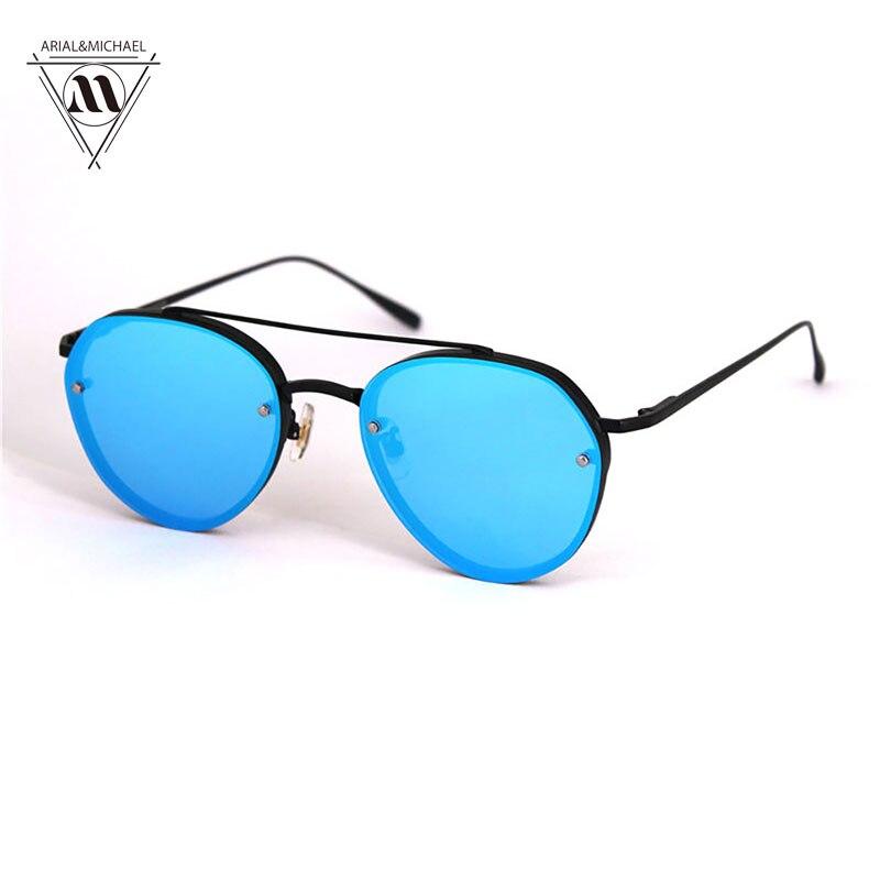 2017 New Summer Retro Round Alloy Frame Sunglasses Brand Designer Fashion Polarized Lens Sunglasses oculos de sol for Men/Women<br><br>Aliexpress