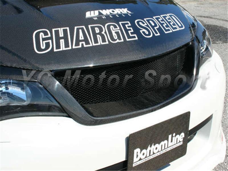 2008-2012 Subaru Impreza GRB WRX STI Charge Speed Style Front Grille CF (11)