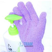 2016 new fashion personal care bath accessories natural scrub exfoliating gloves foam flowers body brush(2 pieces/lot) A029