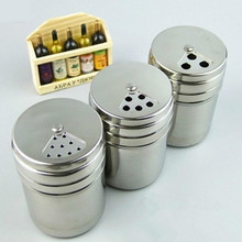 Hot Sale ETYA Stainless Steel Chocolate Shaker Cocoaflour Salt Powder Spices Sugar Cappuccino Coffee Sifter Lid seasoning shaker