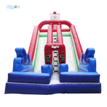 Free Shipping Giant Inflatable Dual Slide Inflatable Slip And Slide For Sale(China)