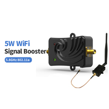 For 5G Network Wireless 5000mW 5.8G IEEE 802.11a/An Indoor WiFi Signal Booster Repeater Wireless Amplifier for router use