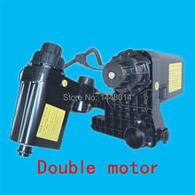 Double motor Auto Media printer take up system for Epson Roland Mutoh Mimaki Xenons DX5 DX7 plotter Paper Collector system 1set