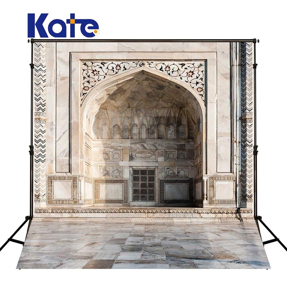 KATE Photography Background 10X10Ft City Building Background Wedding Backdrops Brick Photography Backdrops Newborn Backdrop<br>