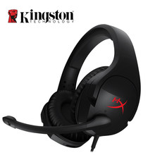Kingston HyperX Облако Stinger Auriculares Наушники Steelseries Gaming Гарнитура с Микрофоном Микрофон Для ПК PS4 Xbox Мобильный(China)