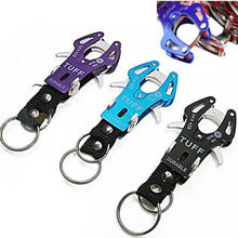 1 pc Delicate Climb Hook Carabiner Clip Lock Keyring Keychain Key Ring Chain Colorful hot selling
