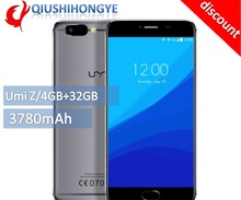 "[ Discount ] Original Umi Z Helio x27 Deca-core 2.6GHZ Full Metal Unibody Smartphone 5.5"" 13MP Front Camera Type-C Mobile Phone"