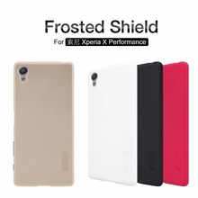 Buy NILLKIN Super Frosted Shield hard back cover case Sony Xperia X Performance free screen protector for $7.19 in AliExpress store