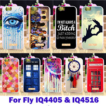 Rubber Phone Covers Cases For fly iq4405 iq 4405/IQ4516 Gionee Elife S5.1IQ 4516 Housing Cover Telephone Booth Letters Shell Bag