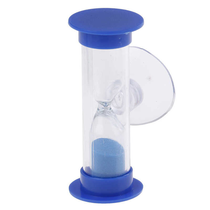 1Pc Toothbrush Swivel Sand Timer 3Minutes 2Minutes Shower Timer Multicolor Kids Hourglass MiNi Glass Sand Clock For Teeth Gadget