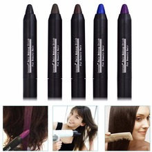 JOYOUS Fast Dying Hair Pen Disposable Temporary Hair Dye Hair Color Chalk Crayons Paint Hair Care Paint Contour Pen(China)