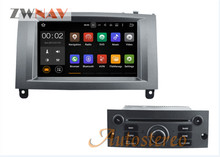 Android System Car Radio Head Unit For Peugeot 407 2004-2010 For Peugeot 407 Radio Screen Auto DVD Player GPS Navigation(China)