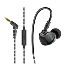 New Jack Runing Stereo Earphones With MIC for Android Samsung Huawei Xiaomi High Quality 3.5mm