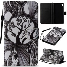 Buy Dulcii Cartoon Pattern Printing Wallet PU Leather Stand Cover Coque Sony Xperia E5 for $3.60 in AliExpress store