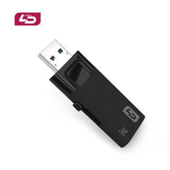 Ld d11 stick de memoria usb 3.0 64 gb usb super velocidad rápida buena calidad flash drive 32 gb pen drive