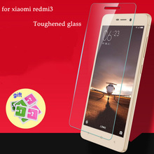 For Xiaomi Redmi3 3S 4A Tempered Glass Film Anti-explosion Screen Protector 5.0inch Redmi3pro No Finger print Glass Protective