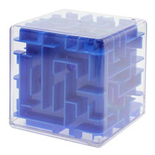 3 Colors Kids Adult Magical 3d Maze Magic Cube Labyrinth Rolling Toys Puzzle Game(China)