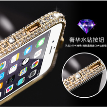 Buy 6 6s Luxury Bling Diamond Bumper Iphone 6s 4.7 inch Case Fashion Crystal Rhinestone Sanke Inlay Metal Frame Glitter Alabasta for $6.53 in AliExpress store