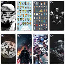 320GH star wars babies Hard Transparent Cover for Huawei P7 P8 P8 P9 Lite Honor 4C 5C 6 7 8 Nova
