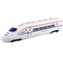 Colorful alloy car harmony front subway train high iron car model toy model 88372 boxed(China)