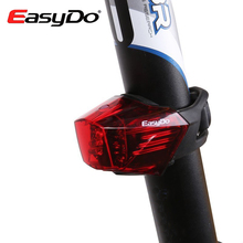 EasyDo USB Chargeable Bike Rear Light Bicycle LED Lamp Mountain MTB Road Seatpost Cycling Taillight Waterproof Luces Bicicleta
