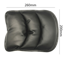 Car Armrests Cover Pad Vehicle Center Console Arm Rest Seat Pad For Ford Focus Fusion Kuga Ecosport Fiesta Falcon Edge Evos