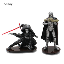 Star Wars The Force Awakens Kylo Ren Phasma Mini PVC Figure Collectible Model Toy 7.5-10.5cm KT1891