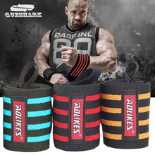 2Pcs 60*8CM Powerlifting Sport Wristband Gym Fitness Dumbbell Barbell Crossfit Hand Bands Weight Lifting Wrist Wrap Support