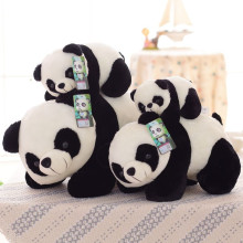 Free shipping Chinese national treasure panda The simulation panda plush toys birthday gift(China)