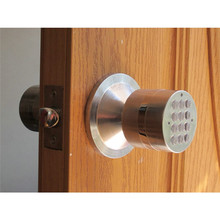 Electric Code Ball Door Lock Digital Electronic Password Ball Lock Smart Entry lk919BS