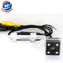 Factory sell Nightvision 4 LED CCD waterproof Car Rear View Reverse backup Camera rearview reversing for Geely Emgrand EC7 2012(China)