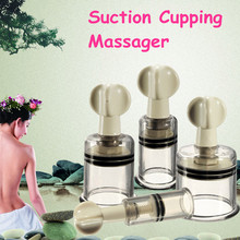 1pc Vacuum Suction Family Body Therapy Massage Nipple Enhancer Anti Cellulite Vacuum Silicone Cupping Cups Health Care