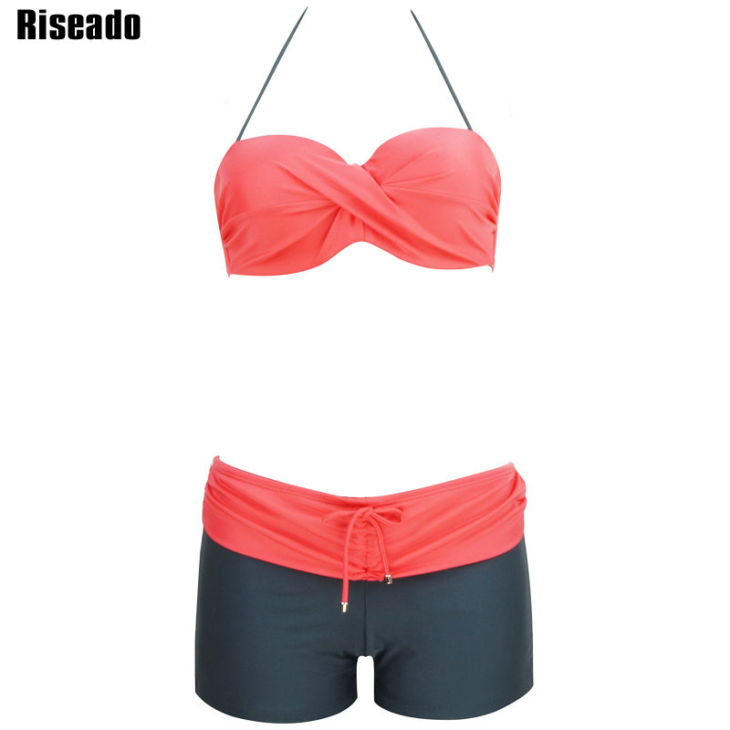 Riseado Sexy Bikinis Set Sports Swimwear Women Brand 2017 New Summer Push Up Swimsuit Beach Bathing Suits<br><br>Aliexpress