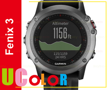 New Garmin Fenix 3 Multisport Outdoor GPS Training Watch Gray with Black Band