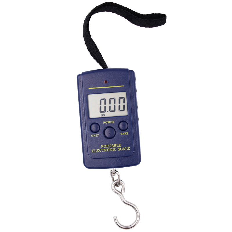 100pcs/lot by dhl fedex 40kg x 10g Hanging Luggage Electronic Portable Digital Weight  pocket scale 7