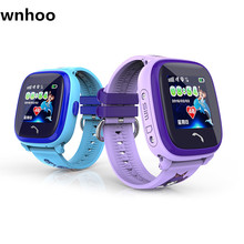 WNH00 Children Smartwatch DF25 Call for help LBS GPS positioning super waterproof IP67 protect children's telephone watch PK Q90