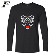 LUCKYFRIDAYF 2017 Tiger Autumn New Print Tee Shirt Women Long Sleeves Casual Men/Women Hip hop T-shirt Men Cotton Plus Size 4XL(China)
