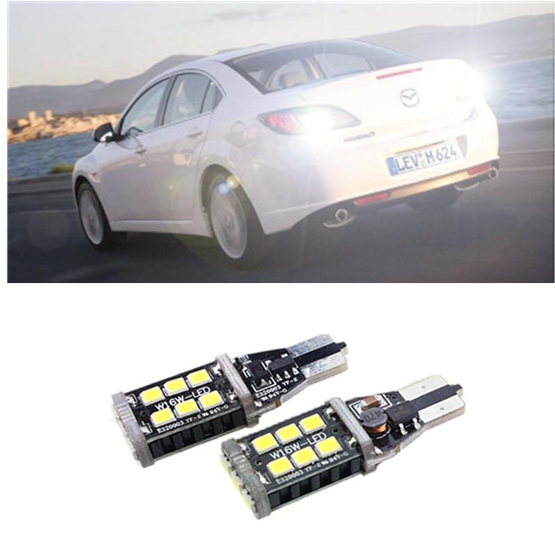 2X Xenon white T15 Samsung High Power LED Backup Reverse High Stop Light For mazda cx-5 cx5 8 cx 5 m8 rx8 mazda m5 2008<br><br>Aliexpress