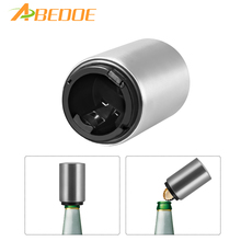 ABEDOE Stainless Steel Beer Wine Opener Automatic Bottle Openers Beer Soda Cap Wine Bottle Opener Kitchen Bar Tools Accessories(China)