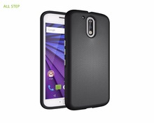 ALL STEP Shockproof Phone Shell For MOTO G4 G5 Plus Play Case Hard PC+Silicone 2 in 1 Hybrid Back Cover Case For Moto Z Driod