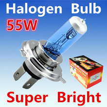 Buy 2pcs H4 55W 12V Super White Fog Lights Halogen Bulb High Power Car Headlight Lamp Car Light Source parking Head auto 6000K for $2.66 in AliExpress store