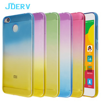 Gradual Color Case For Xiaomi Redmi 4X 4A 4 Pro Prime Silicone Cover 5.0 inch Soft TPU Rubber Case Cover For Xiomi Redmi 4 4X 4A