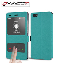 OWNEST Flip Case Cover for Huawei P8 LITE P9 P9 Lite PU Leather Phone Bags Cases with Stand Function