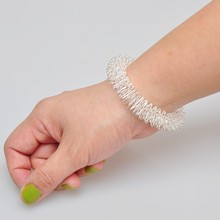 10pcs Massager wrist ring Acupuncture ring massage ring Hand ring(China)