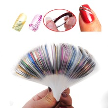 30pcs/lot Sticker For Nail Sticker Rolls Striping Tape Line Adhesive Stick Strip False Tips Decoration Decal All for Nails Tools