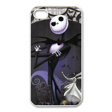 2015 Hot models Funny Picture of Nightmare Before Christmas Jack for Iphone 4S/5S/5C Plastic Mobile phone protective shell