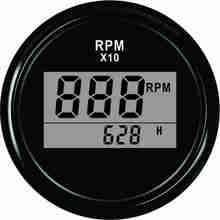 Popular 52mm Digital Tachometer RPM Gauge 0-9990RPM(China)